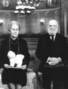 В.В.Шульгин с женой Марией Дмитриевной