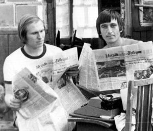На даче в Трубачеевке, лето 1975 г.