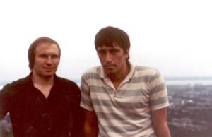 Фото периода Вина Утренней Зари. Лонгей, Квебек, начало 80-х