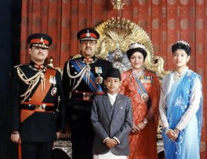 Семья короля Непала Бирендры