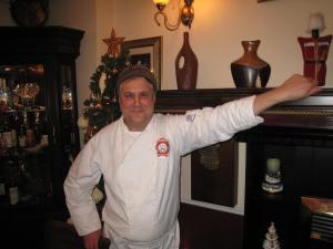 Валерий Жмурко в своем ресторане
