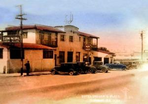 "Отель ""Caesar's Place"" в Тихуане Начало 1920-х."
