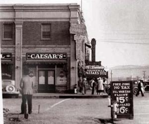 Ресторан Кардини в Тихуане, 1930-е