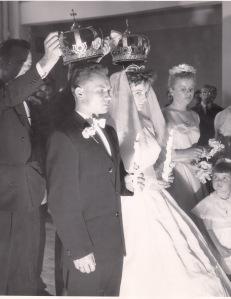 Под венцом, Монреаль, 1961 г