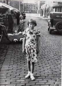 Рита Леднова, Шатле, Бельгия, 1950 г.