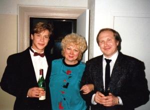 Рита с сыном Мишей в гостях у автора, вторая половина 1980-х, Монреаль