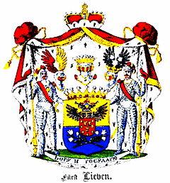 Герб рода Ливеных