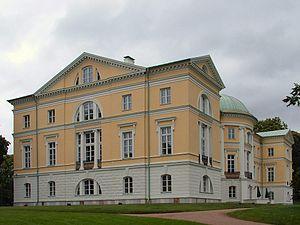 Дворец Ливенов в Межотне, Латвия