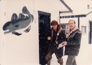 На зимней рыбалке с А.Г.Тофером