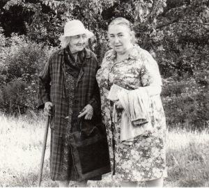 А.И.Цветаева и Ю.М.Каган