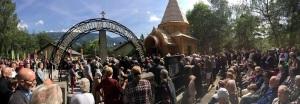 Освящение часовни в Лиенце. 1 июня 2015 г.