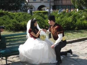 Татарская свадьба в Бахчисарае.