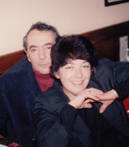 Анатолий Найман с женой Галей