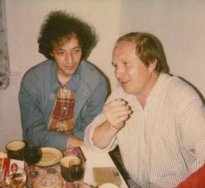 С Бахытом. Середина 1980-х.