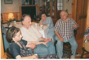 Лиза, Глеб, Люба и Эма