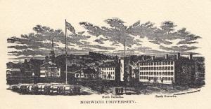 Так выглядел Норвич в 1860 г.