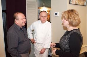 Обсуждение вечера с Олегом и Галиной Скобиола