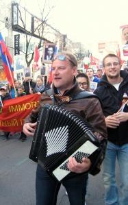 Баянист Владимир Сидоров