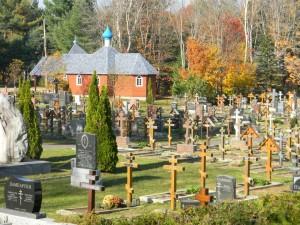 Русское кладбище в Роудоне