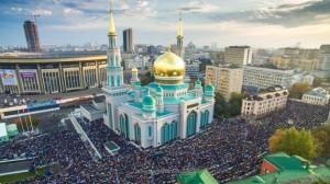Курбан-байрам у новой Соборной мечети