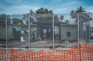 Беженский лагерь Ломбрум на остове Манус