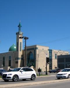 Мечеть в Картьевилле