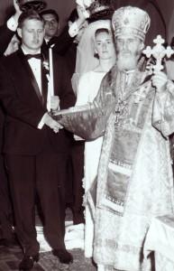 Полвека тому назад. Обряд венчания совершает архиепископ Монреальский и Канадский Виталий (Устинов)