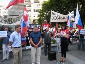 Заявление от имени русской общины Канады
