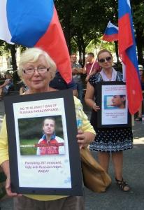 Нет - полному запрету российских паралимпийцев!