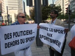Политиков - вне спорта!