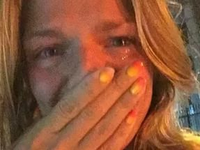 Юлия Ефимова в слезах