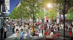Так будет выглядеть улица Сент Катрин