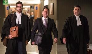 Майкл Апплбаум в здании суда