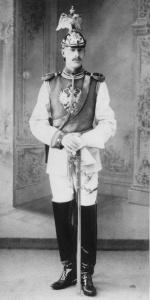 Димитрий Георгиевич Лейхтенбергский в форме Конногвардейского полка.