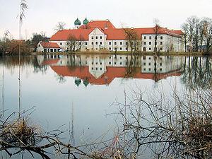 Замок Зееон в Баварии