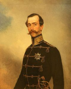 Максимилиан Лейхтенбергский. Художник К. П. Брюллов, 1849 год