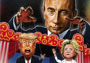 Современная карикатура на Путина