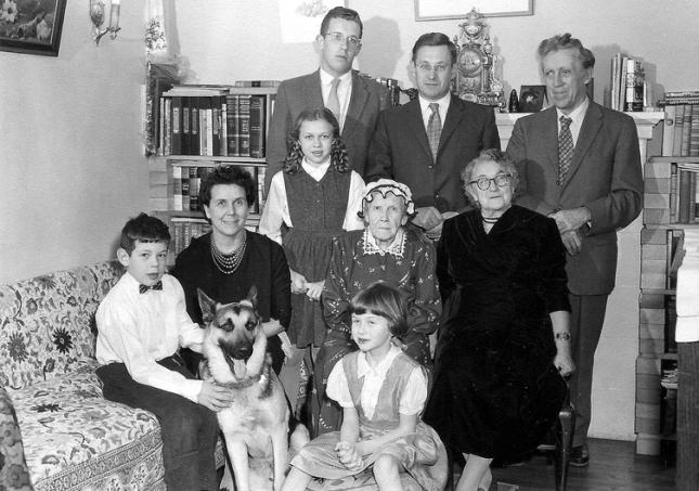 С семьей в Оттаве, 1959 год